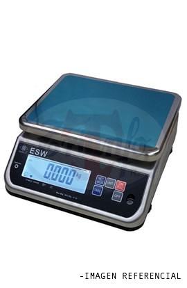 Balanza Solo Peso Acero Inox. 15 Kg. IP68