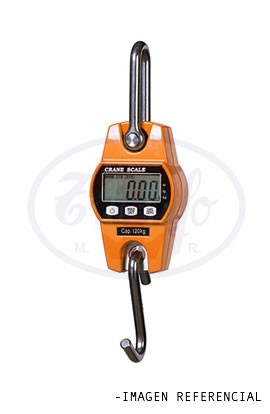Balanza de Colgar Electronica Portatil 30 Kilos Aluminio