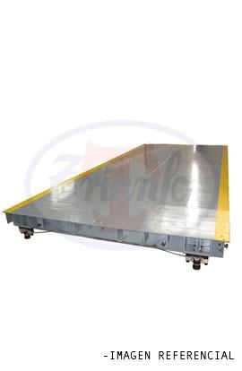Plataforma para pesaje de camion 2,5 x 5 Mts. 30 Toneladas