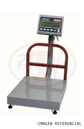 Plataforma de Piso 50 Kg. Solo Peso Torrey Acero Inoxidable