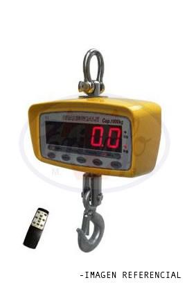 Balanza de Colgar Electronica 1000 Kilos con RS232