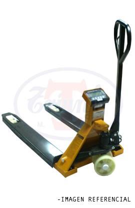 Transpaleta Manual con sistema de pesaje 2 Toneladas - Angosta