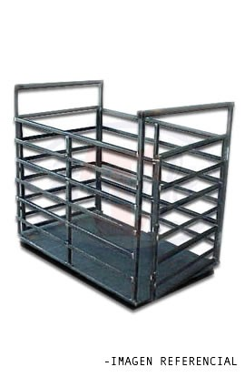 Plataforma para pesaje de animales de 0,8 x 2,5 Mts - Hasta 2000 Kg.