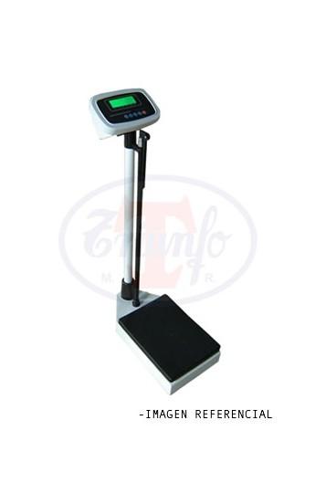 Balanza de uso Medico digital 200 Kg. Con Tallimetro