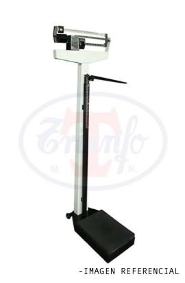 Balanza de uso Medico mecanica 200 Kg. Con Tallimetro