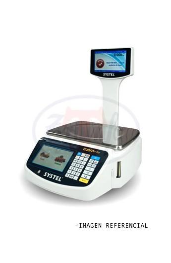 Balanza digital 30 Kilos con impresora Ticket y USB