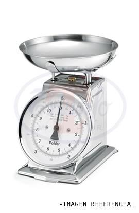 Balanza mecánica de cocina 20 Kilos Acero Inoxidable